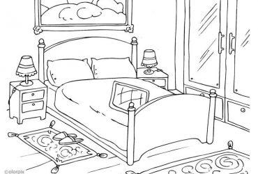 Camera da letto e tinello