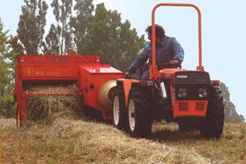 Imballatrice per trattore Landini