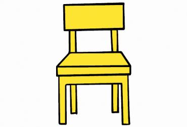 6 sedie finta pelle