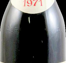10 bottiglie barbaresco De Forville 1971