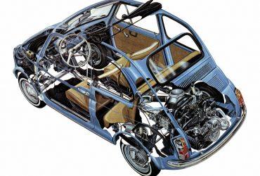 Ricambi per Fiat 500