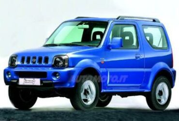 Suzuki Jimny blu 1300 16v