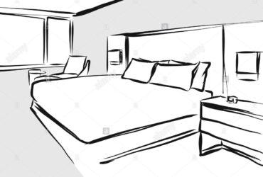 Camera da letto anni 90 laccata