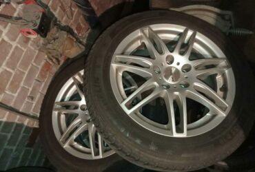 Cerchi in lega Audi A3 più gomme antineve